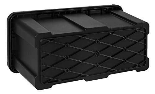 25l Unterbaubox oder Deichselbox für PKW Anhänger Pritschenfahrzeuge LKW Anhänger Staubox Werkzeugkiste Gurtkiste - 5