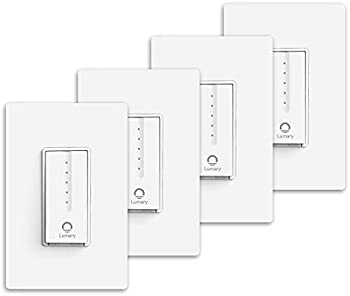 4-Pack iLintek Lumary Smart Wi-Fi Light Dimmer Switch