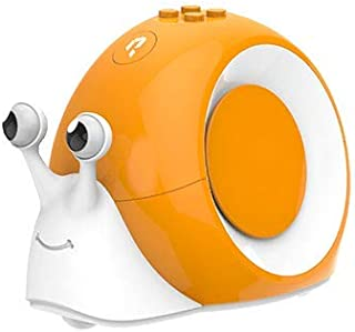 Robobloq STEM Robot Toy - Smart Snail Robot Kit for Programmable Education, Easy Coded with Remote Control, Puzzle Card, Color Flashing Shell, Compatible with Major Building Block Toys