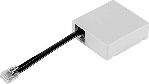 Hörmann Puerta de enlace (para controlar accionamientos de puerta de garaje mediante sistema Homematic IP Smart Homa System, incluye cable de conexión, 51 × 47,5 × 16 mm), 4511629, color blanco