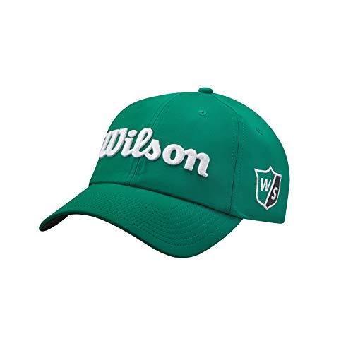Wilson Herren Golf-Kappe, PRO TOUR, Polyester, Grün/Weiß, Einheitsgröße, WGH7000057