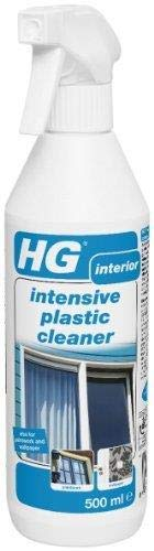 4 X HG 209050106 500ml Intensive Plastic Cleaner