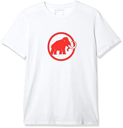 Mammut Herren T-shirt Mammut Logo, weiß, M