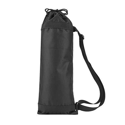 Camerastatief draagtas Draagbaar fotostatief draagtas Zwarte camerastatieftas Opvouwbare, gevoerde Oxford-riem voor gebruik buitenshuis (45 cm)