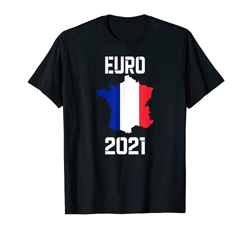 Trikot Frankreich Country Football Flag T-Shirt