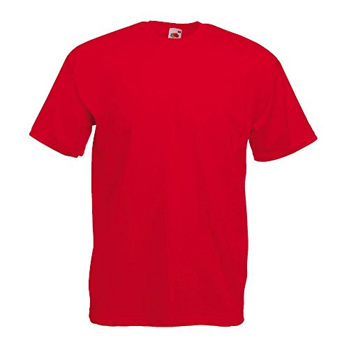 Fruit of the Loom - Classic T-Shirt 'Value Weight' XXL,Red