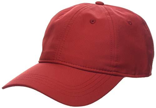 Lacoste Sport Herren Rk2447 Schirmmütze, Rot (Rouge 240), One Size (Herstellergröße: TU)