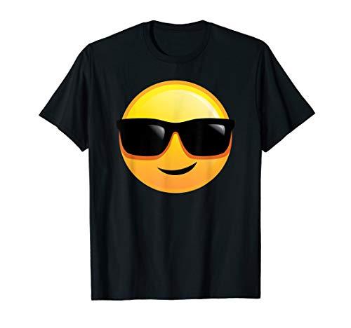 😎 Cooler Typ Lässig Sonnenbrille Smiley Emoji T-Shirt