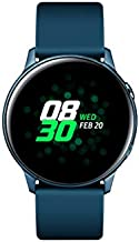 SAMSUNG Galaxy Watch Active (40MM, GPS, Bluetooth) Smart Watch with Fitness Tracking, and Sleep Analysis - Green - (US Version)