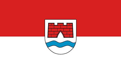 Unbekannt magFlags Tisch-Fahne/Tisch-Flagge: Ertingen 15x25cm inkl. Tisch-Ständer