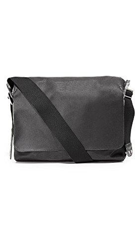 Brooks Paddington Shoulder Bag Canvas total black 2017 Tasche