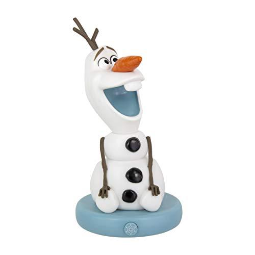 Paladone Olaf BDP Licht Decoratief Wit Verzamelbaar Bevroren 2 Lamp | Ideaal voor Kinderen Slaapkamers, Kantoor & Thuis | Pop Culture Gaming Merchandise