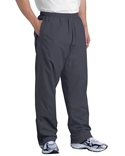 SPORT-TEK Men's Wind Pant M Graphite Grey