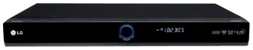 LG RHT-498H DVD-Recorder mit 250 GB Festplatte (HDMI, USB, DVB-T, MP3)