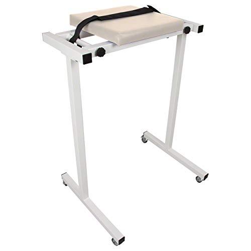 Sport-Tec Kypho-Mobil Bein Ablage für Therapieliegen Massageliegen mit der Breite 65-80 cm