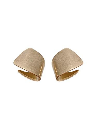 Women's long earrings Light gold metal creative temperament earrings 925 sterling silver earrings beautiful package Can be used as a gift