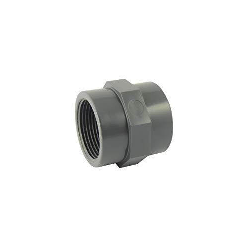 "Raccord Union Mixte 3 pièces Taraudé PVC Pression ø 63 mm intérieur vers 2/"""