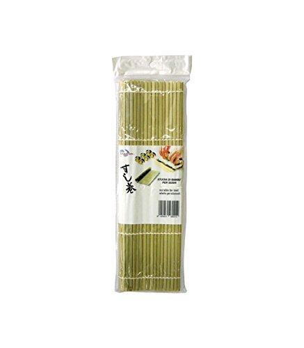 Stuoia di bamboo per sushi L - 27x27 cm
