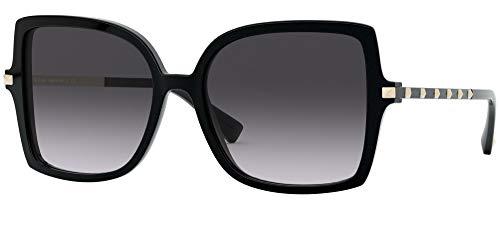 Valentino sonnenbrille VA4072 50018G BLACK Schwarz nero größe 56 mm Damen