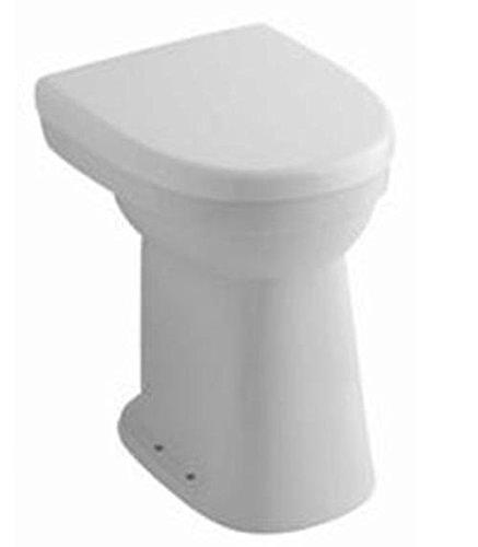 Ceravid Flachspül-WC Abgang Waagerecht, Komfortlösung - erhöhte Sitzfläche +10 cm, WC Sitz muß extra bestelt Werden, C74220000