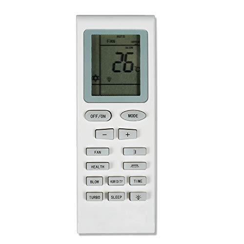 CROSYO Acondicionador de Aire Acondicionado de Control Remoto Adecuado for Gree Trane Electrolux YB1F2 YB1F YB1FA Yb1faf Yb1f2f YBOF YB1A21