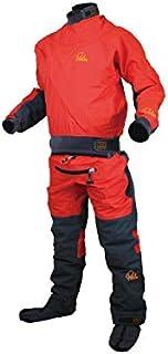 Palm 2019 Mens Cascade Front Zip Kayak Drysuit + con Zip Flame Red 11741