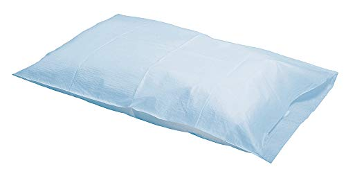 Graham Medical 48766 Tissue/Poly Pillowcase, White, 21