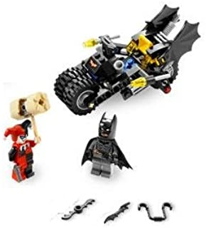 Lego 7886 Mini Figures and Batcycle, Quinn and Batman, Factory Sealed New Online Manual Link Included
