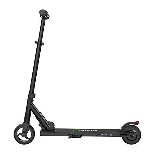 Goodtimera - Patinete eléctrico, patinete eléctrico, plegable, motor de 250 W, velocidad máxima 23 km/h, alcance máximo de 12 millas, para adultos y jóvenes
