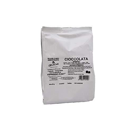 ODC Capsule compatibili con macchina da caffè sistema Lavazza Espresso Point kit formato da 50 cialde solubile Cioccolato con chiusura salva freschezza MADE IN ITALY