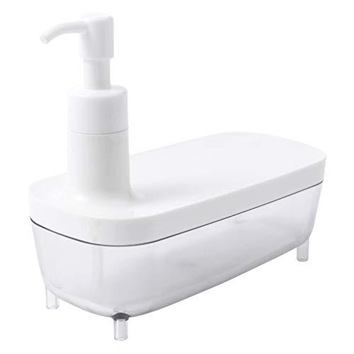 Dispensador de jabón Fregadero de cocina lavavajillas líquido líquido Botella desinfectante de mano, botella de líquido de jabón creativo, puede almacenar suministros de cocina Dispensador de jabón de