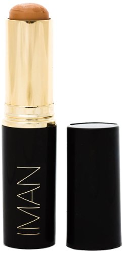 IMAN Cosmetics Second To None Stick Foundation, Medium Skin, Clay 3