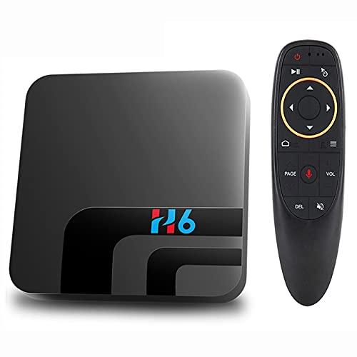 RONGXI Caja de Android TV de Las multimedias, Androide televisor Caja Android 10 2GB 4GB 64GB 32GB 6K 3D Video H.265 Media Player 2. 4g 5g HZ WiFi Bluetooth Set Top Box Smart televisor Caja