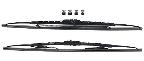 Bosch Scheibenwischer Twin Spoiler 550S, Länge: 550mm/550mm – Set für Frontscheibe