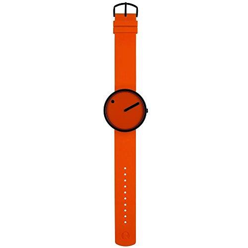 Rosendahl Unisex analoog kwarts horloge met rubber armband R-43374