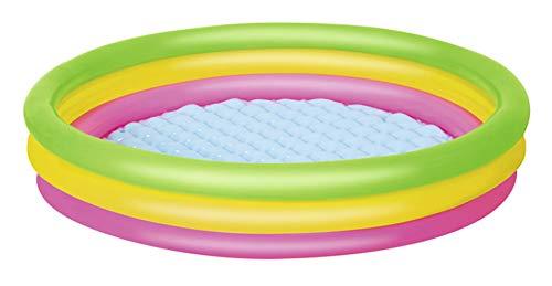 Thole Piscine Gonflable Couleur Arc-en Familiale Petits Enfants Bathtub Jardin 70~152cm,152x30cm