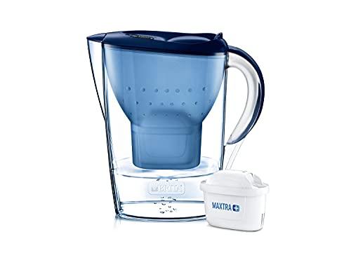 BRITA Marella German Made Water Filter Jug 2.4 liters Blue with...