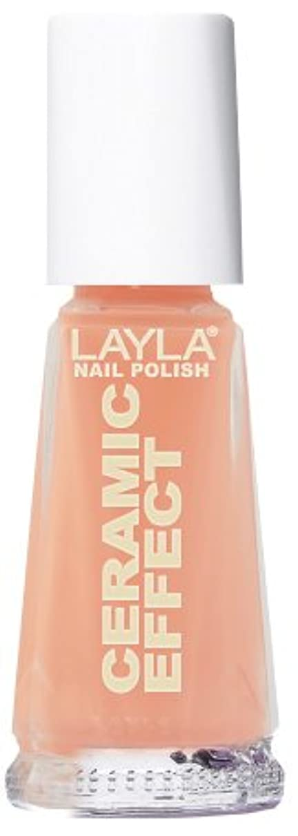 とても異常なとは異なりSmalto Layla Ceramic Effect N.49 Peachy Nail Polish