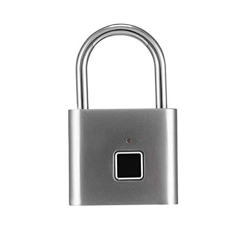 nulala Smart Lock intelligent vingerafdrukwachtwoord roestvrij staal hangslot automatisch wachtwoord bagagerslot hangslot