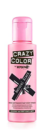 Crazy Color 4x100ml. # 32 Natural Black
