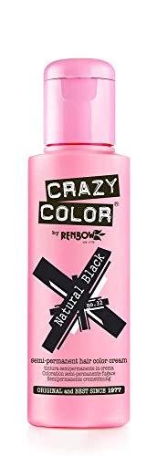 Crazy Color 4x100ml. # 32 Natural Black