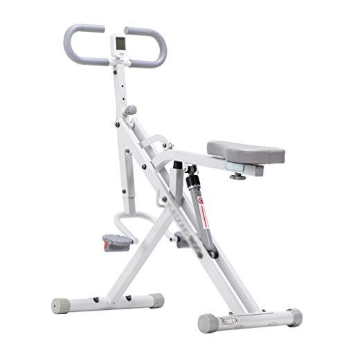 LYATW Fuerza Total Crunch Crunch Fitness Workout Entrenamiento Muscular Aerobic Fitness Coach Montar a Caballo, Ciclismo de Interior Bicicleta de Gimnasio Crunch Trainer Assist