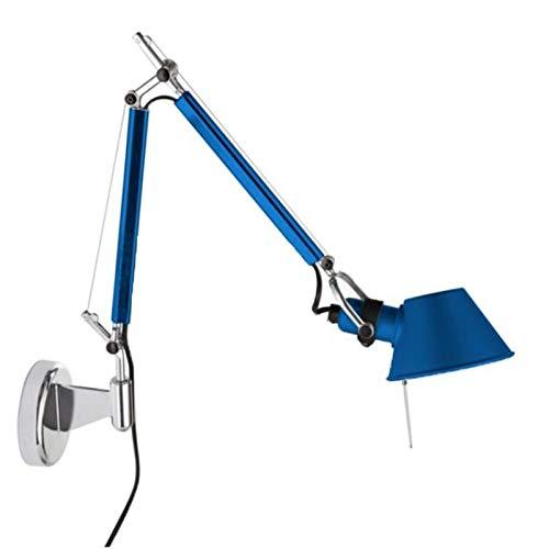 Artemide Tolomeo Micro E14 wandlamp draaibaar - blauw