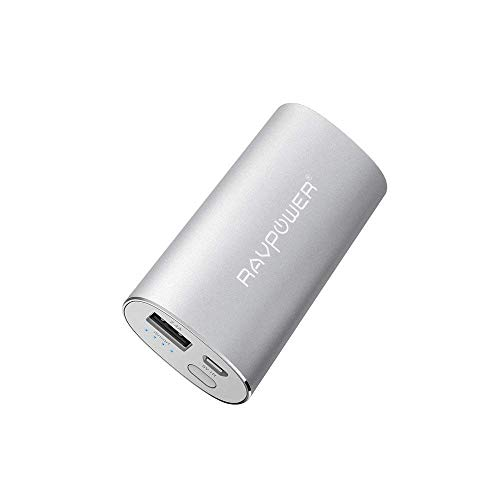 Portable Charger RAVPower 6700mAh (2.4A Output & 2A Input) External Battery Pack Power Bank Power Pack Backup Battery Charger for...