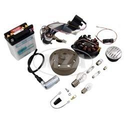 SET Umrüstsatz VAPE Schwalbe KR51/1, KR51/2 auf 12V, Komplett-Set mit allen benötigten Anbauteilen und Anleitung