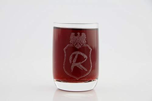 Graviertes Stamperl, Stamper, Schnaps-Glas mit einer Gravur wie Sie es wünschen zum Geburtstag, Weihnachten, Jubiläum, oder als Gastgeschenk zur Hochzeit, Glas: :80ml