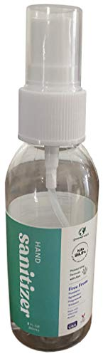 Liquid Hand Sanitizer - 70% Alcohol - 2oz Short Spray Mist...