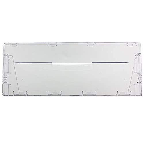 Spares2go Tapadera para cajón de plástico, con tirador frontal, para frigoríficos Indesit