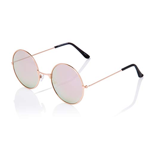 Volwassenen Retro Ronde Klassieke Zonnebril John Lennon Stijl Mannen Vrouwen Bril UV400