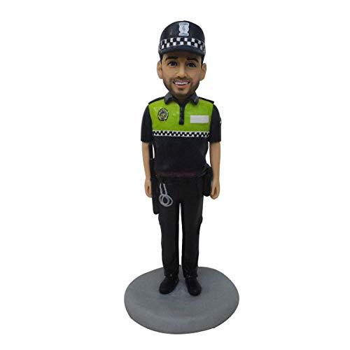 muñeca de arcilla polimérica figurita de foto policía cazador estatua escultura personalizada...